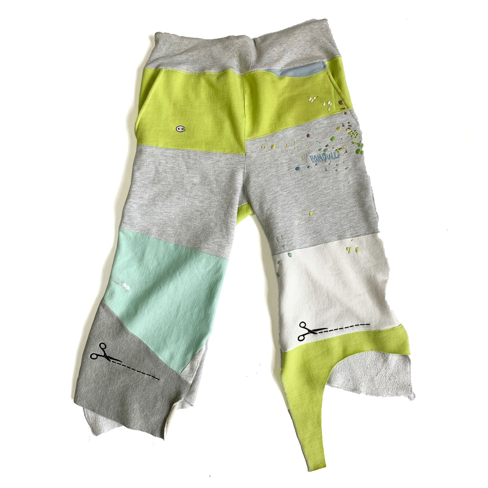 "BANDULU "" CUT YOUR OWN "" SWEATSHORTS"