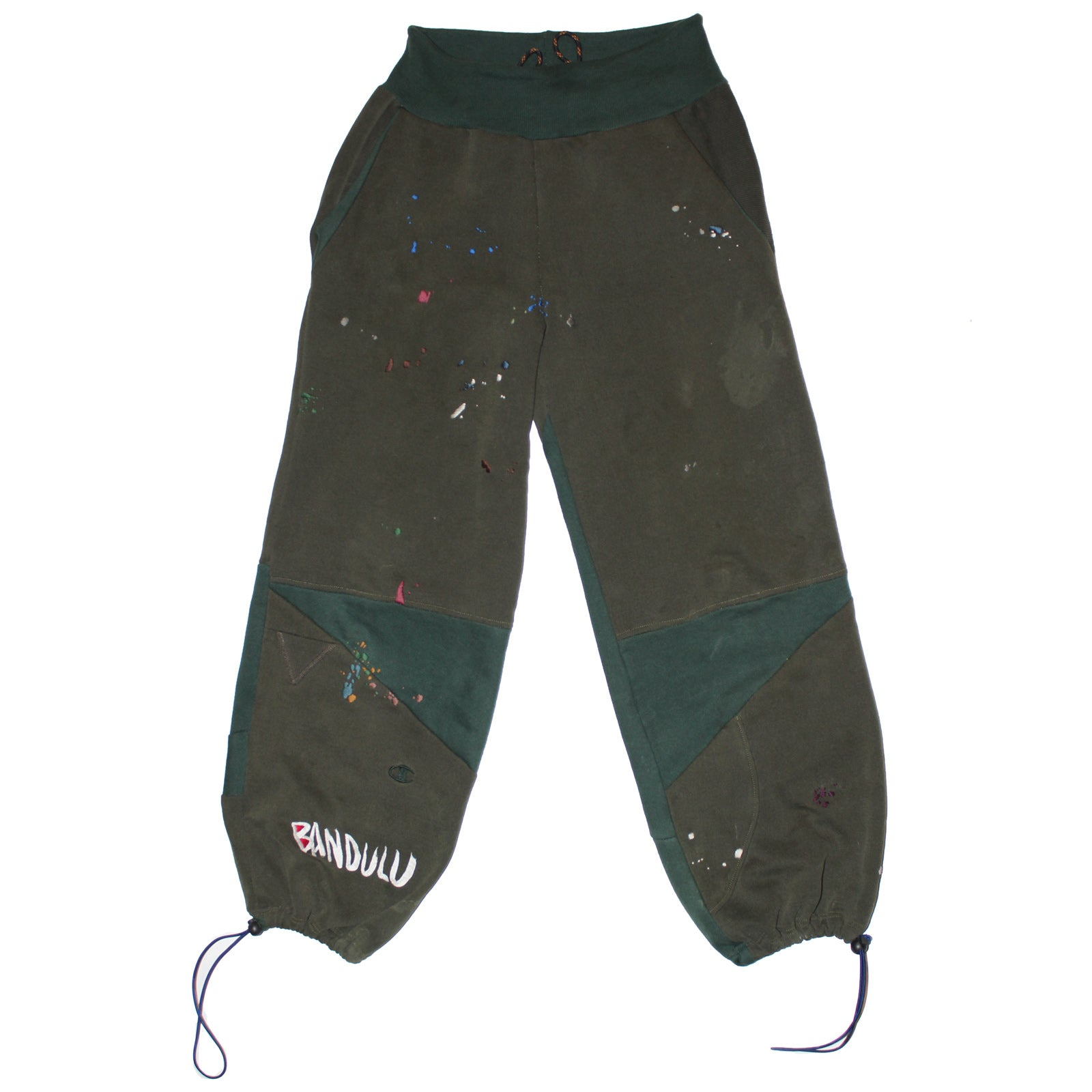 "BANDULU ""AUTO BODY ESSENTIAL"" UPCYCLED SWEATPANTS"