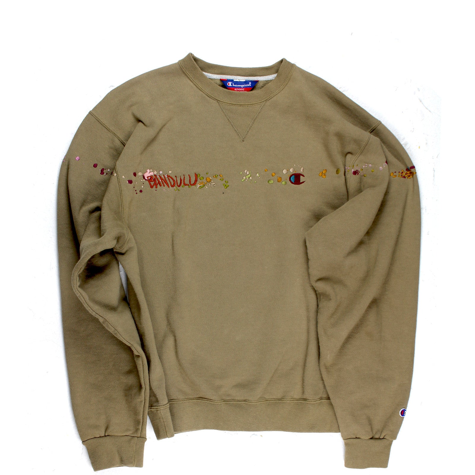 "BANDULU ""ALL GOOD ACAPULCO"" VINTAGE CHAMPION CREWNECK"