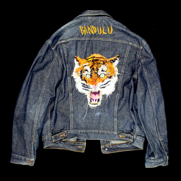 "BANDULU ""TIGER"" SECRET TRUCKER JACKET"