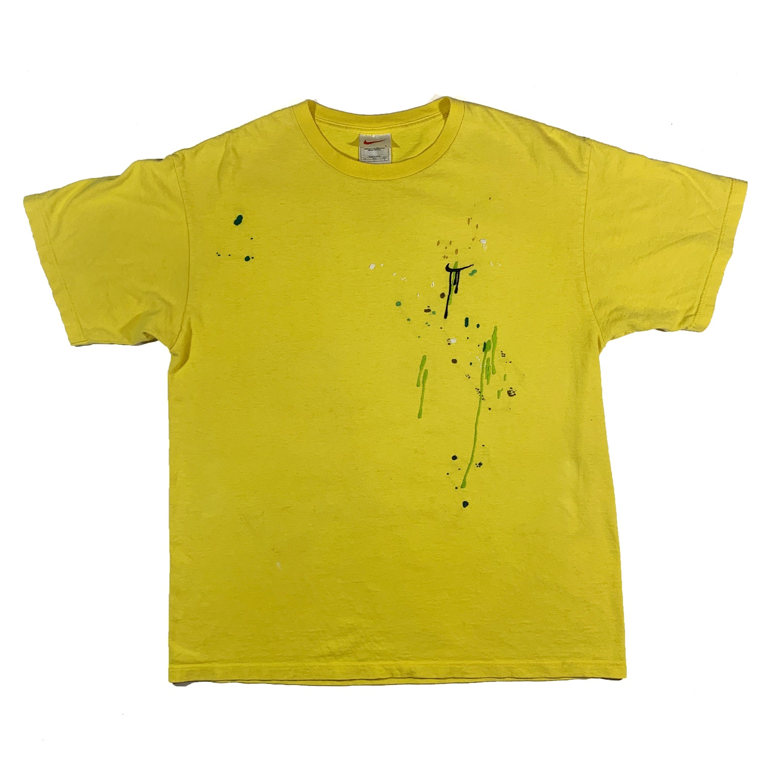 "BANDULU "" LEMON CELLO "" VINTAGE NIKE TEE L"