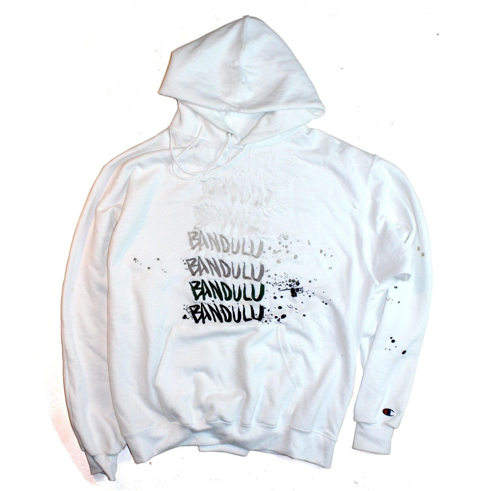 "BANDULU ""YOU CAN'T FADE ME"" CHAMPION ECO HOODIE"