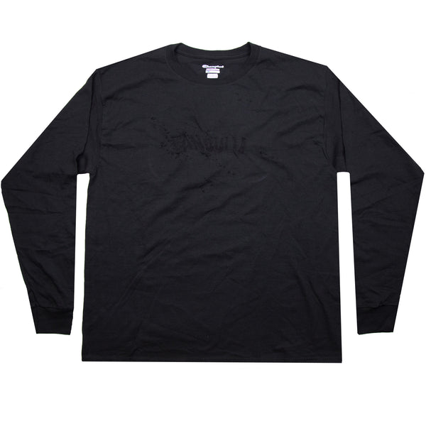 "BANDULU ""MURDERED OUT"" LONGSLEEVE LOGO TEE"