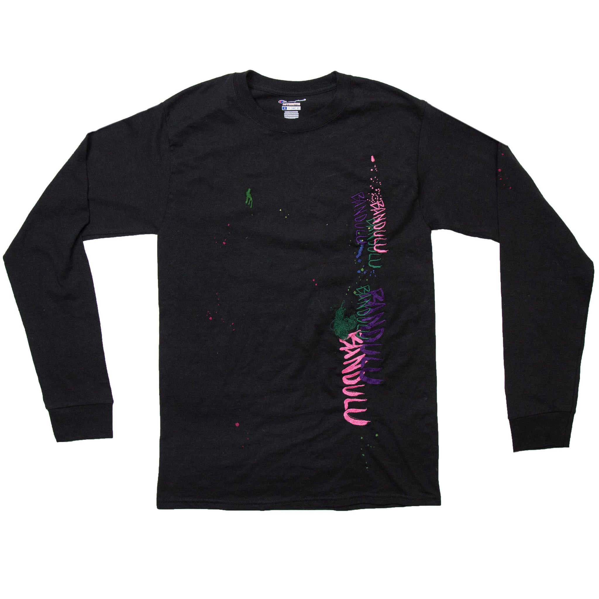 "BANDULU ""WINDOW WIPING"" LONGSLEEVE TEE"