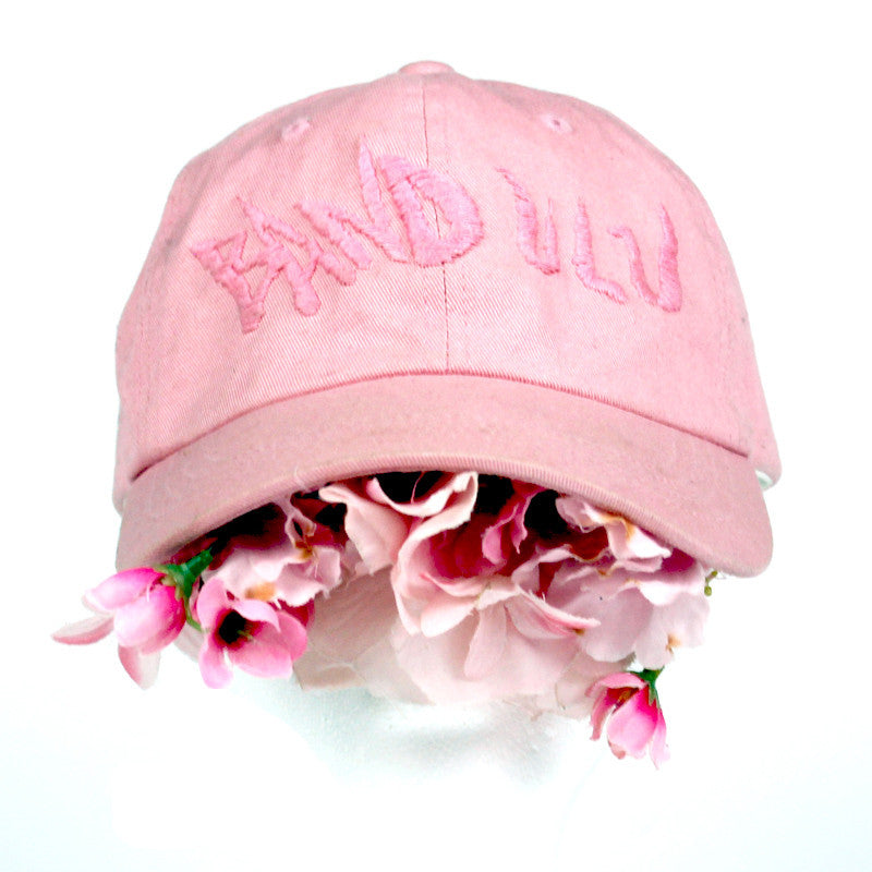 "BANDULU ""BROKEN FLOWERS"" BOUQUET BASEBALL CAP"