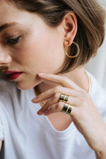 Bold Earring + Double Bold Earring - MVDT COLLECTION