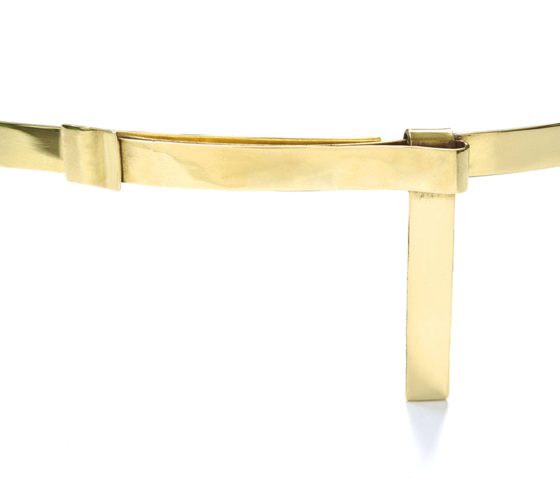 Alt Belt made of Brass inspired by Emmanuelle Alt