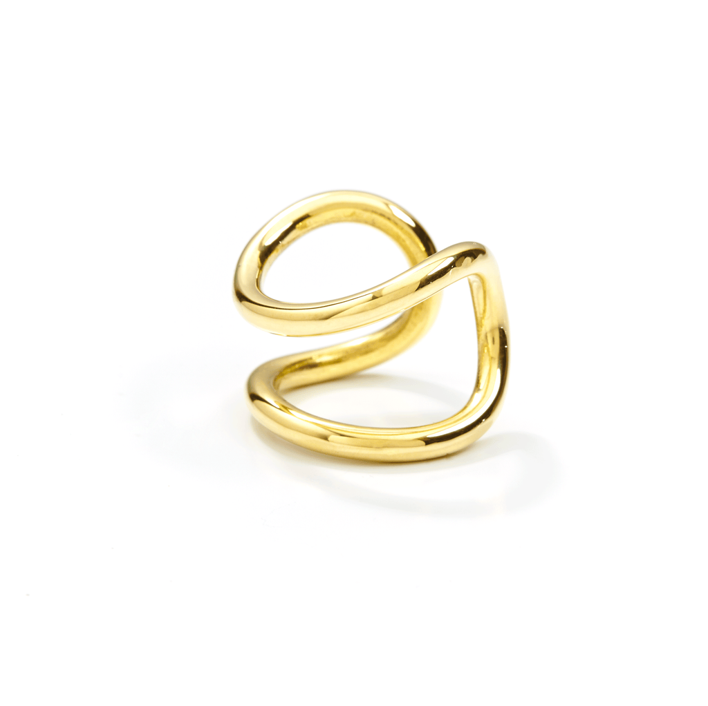 Bold Ring handmade of Brass.