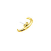 Cuff Earring Gold for second hole - Cuff Oorbel Goud voor tweede gaatje
