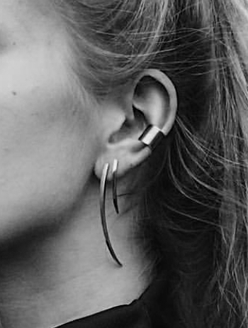 Tube Ear Cuff Medium