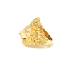 Lion Ring Gold - Leeuw Ring Goud - Leeuwen Ring  Goud Left side