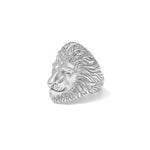 Lion Ring Silver 925 Sterling - Leeuw Ring sterling zilver 925 - Front