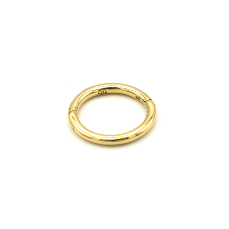 Loop Click Earring GOLD