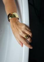 Origin Ring No.3 Bold Gold - Goud - Bath