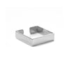 Square Ring Fine Sterling 925 Silver - Vierkante Ring Fijn Sterling 925 Zilver - Product