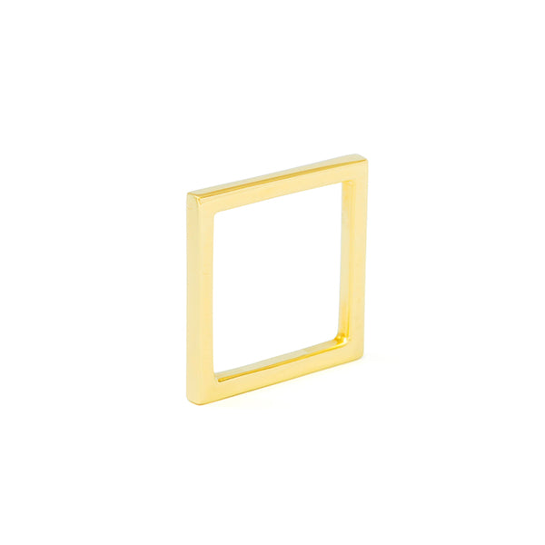 Square Ring Finest Gold - Vierkante Ring Fijn Goud - Product