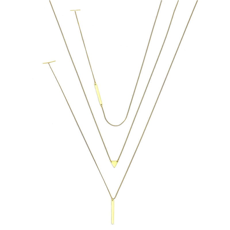 Threesome Necklace Set