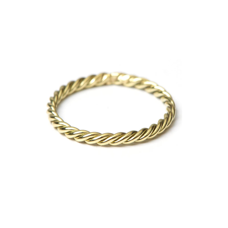Twist Ring Big GOLD