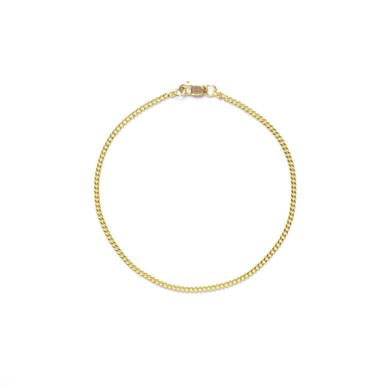Chain Braclet Gold 1.8 mm
