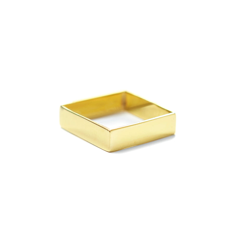 SQ Ring Fine GOLD