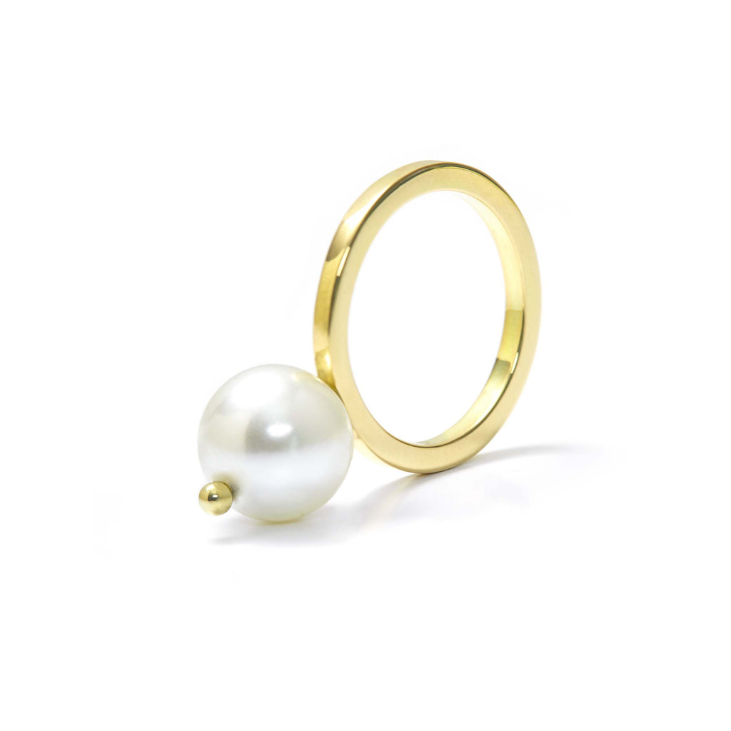 The Pearl Ring Gold
