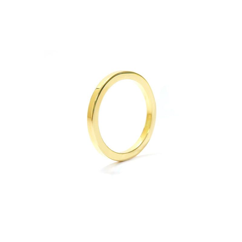 SQ Wire Ring GOLD