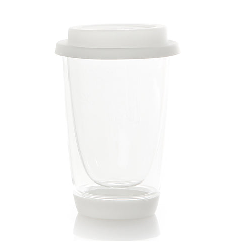Travel Mug Glas Dubbelwandig 350 ml