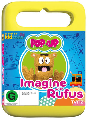 Pop-Up: Imagine With Rufus DVD