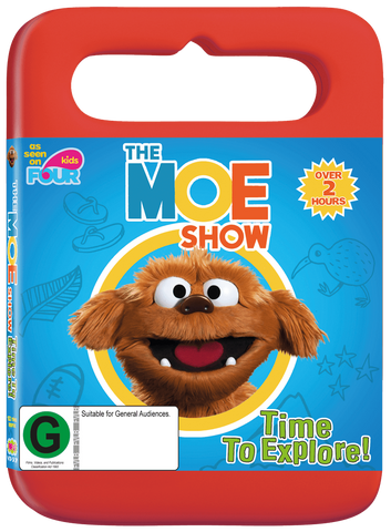 The Moe Show: Time to Explore DVD