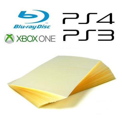 Repack-It Over-Wrap Sheets for Blu-ray, PS4, PS3 and Xbox One Cases