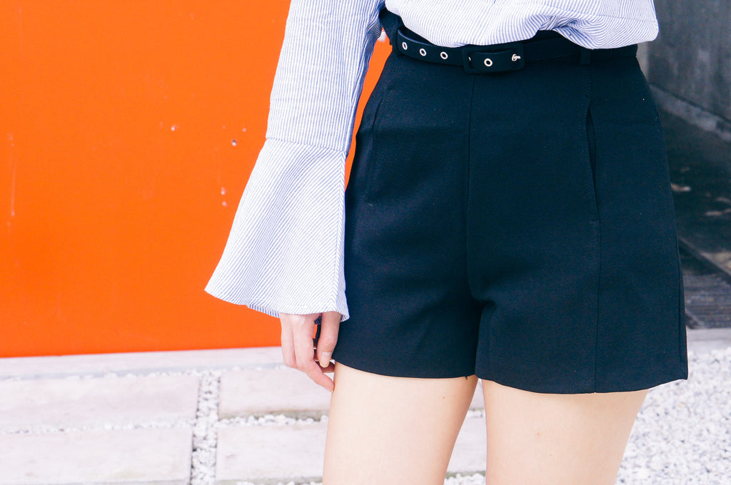 Phill Shorts-Navy Blue