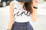 Girls Crop Top