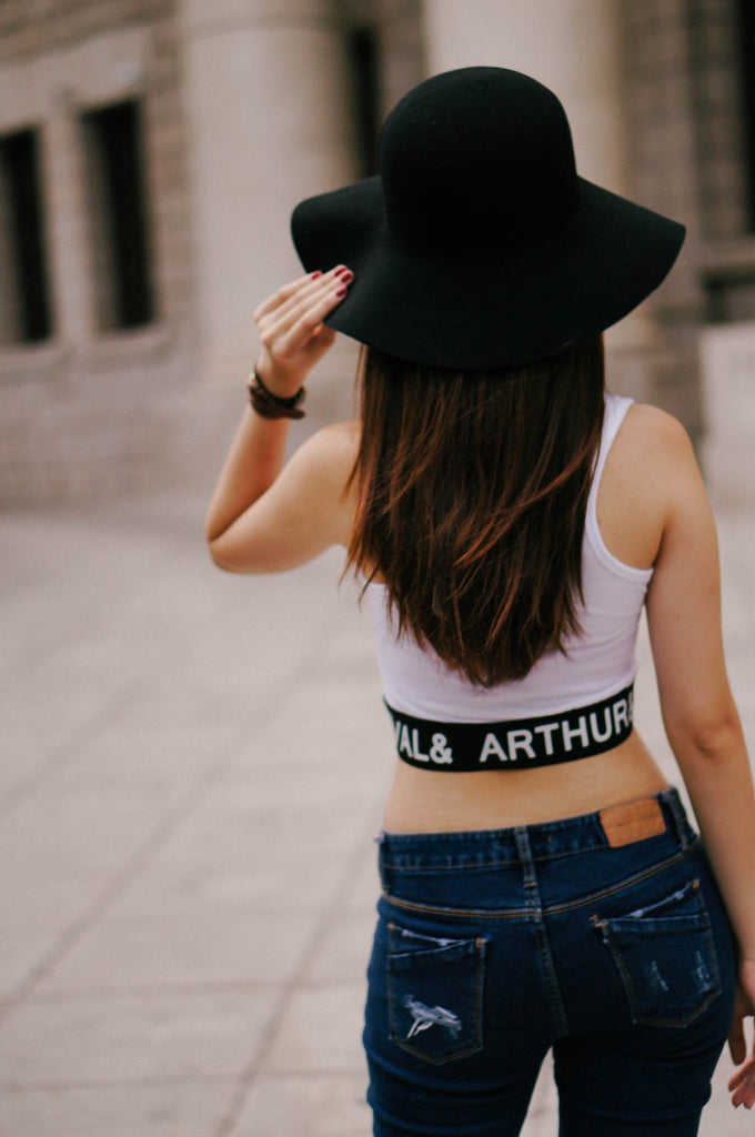 Arthur Sports Crop Top