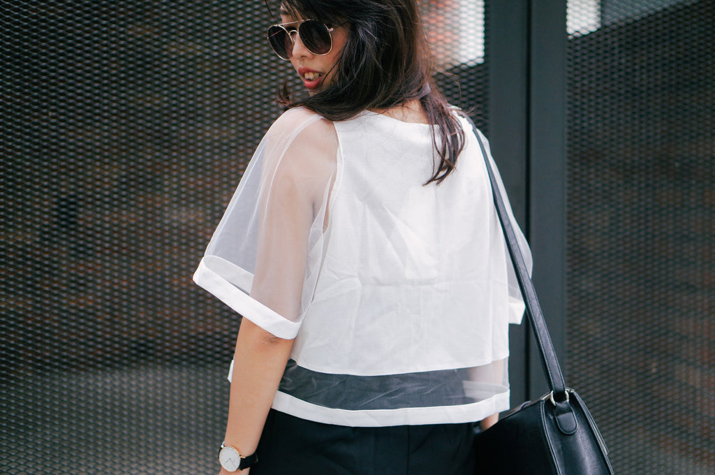 Belva Sheer Top