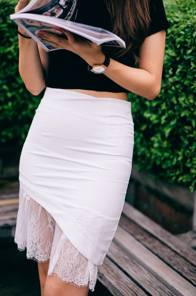 Lavada Lace Skirt
