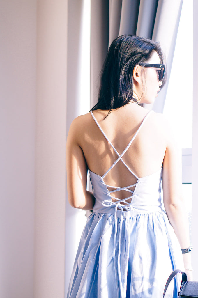 Anastasia Strappy Backless Dress