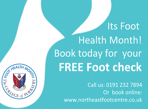 256cb49cb4 North East Foot Centre | Specialists in Podiatry, insoles and footwear