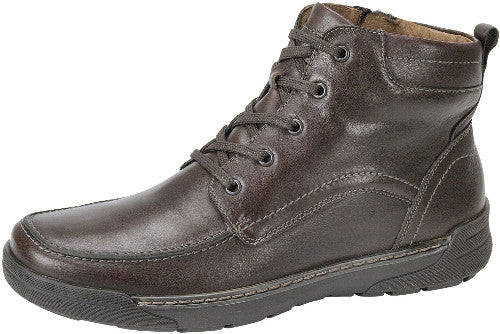 Waldlaufer mens winter boot brown leather