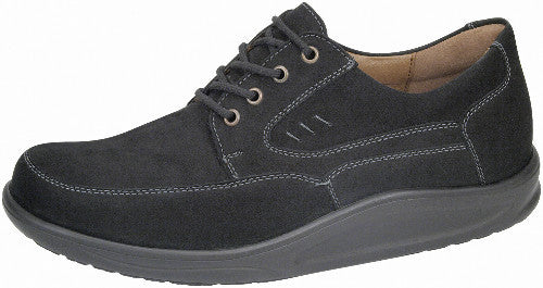 Waldlaufer Dynamic Rocker Shoe mens black leather