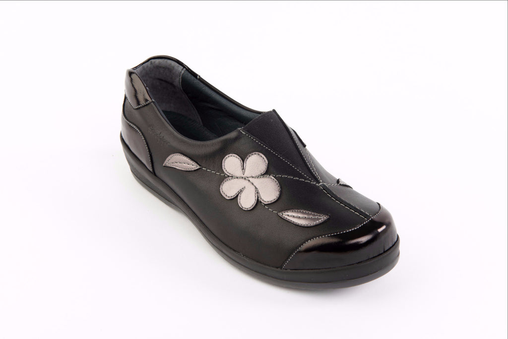 Sandpiper ladies fareham stylish wide fitting shoes