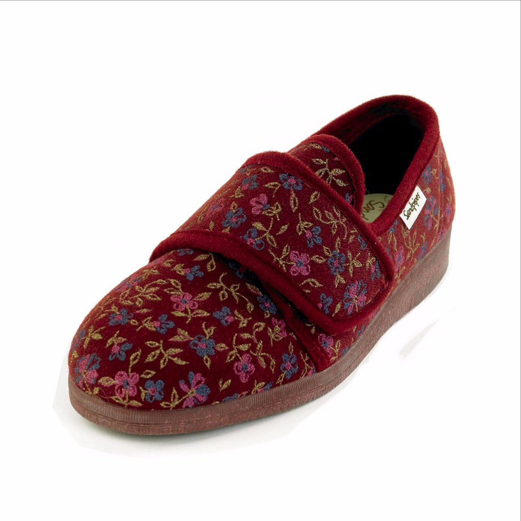 Ladies Sandpiper Sophie Wide Fitting Slippers