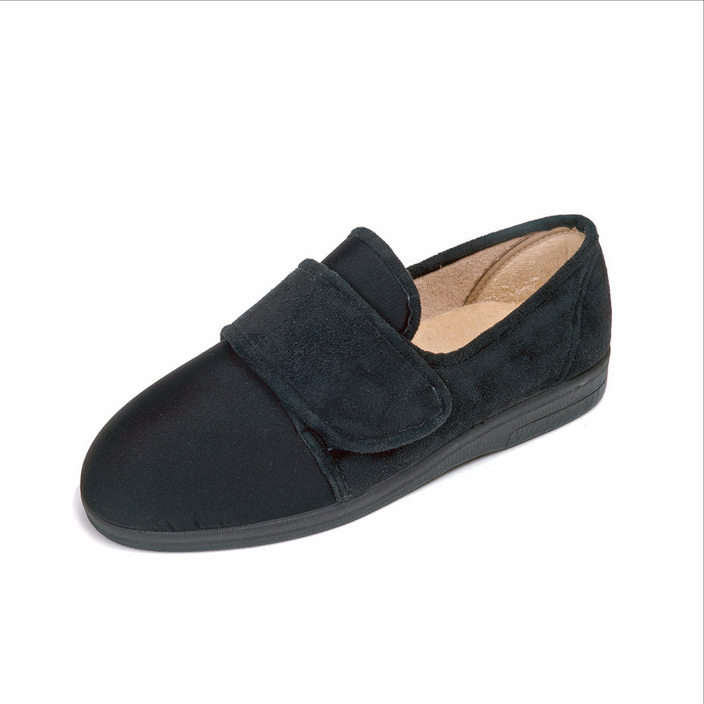 comfortable ladies wide fitting slipper suitable for diabetics