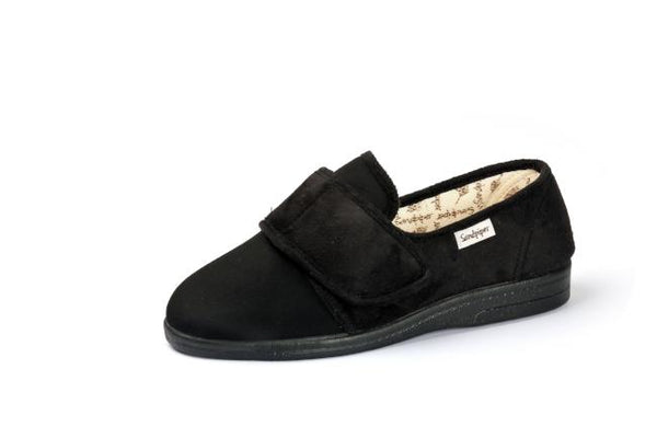mens wide fitting slippers
