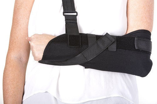 Sling for general immobilisation of arm and shoulder