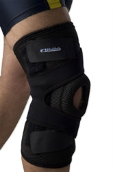 stabilised knee brace