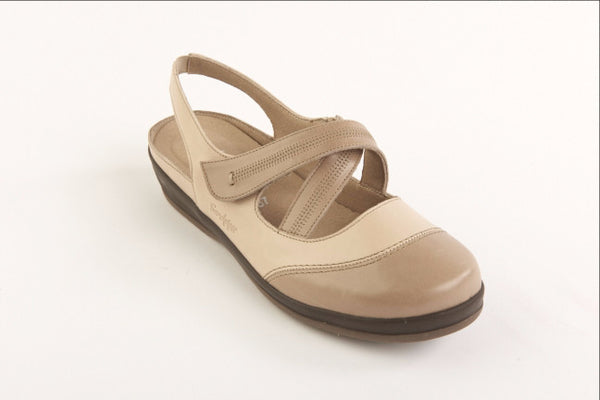 Sandpiper ladies stylish wide fitting shoes