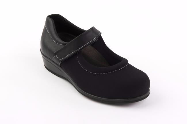 Ladies Sandpiper Walmer  Wide Fitting 4E - 6E  Shoes (VAT Exempt)