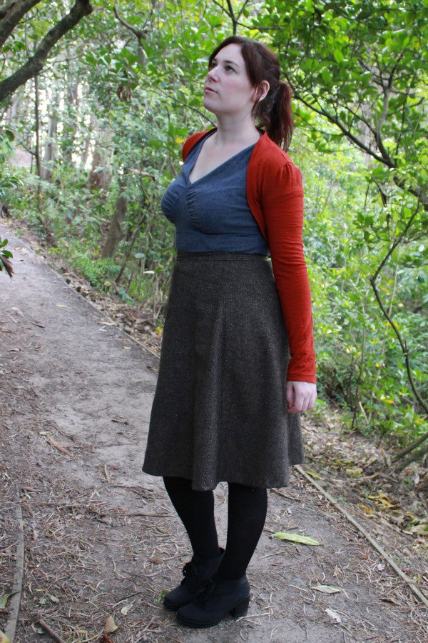 Tahi skirt and shrug