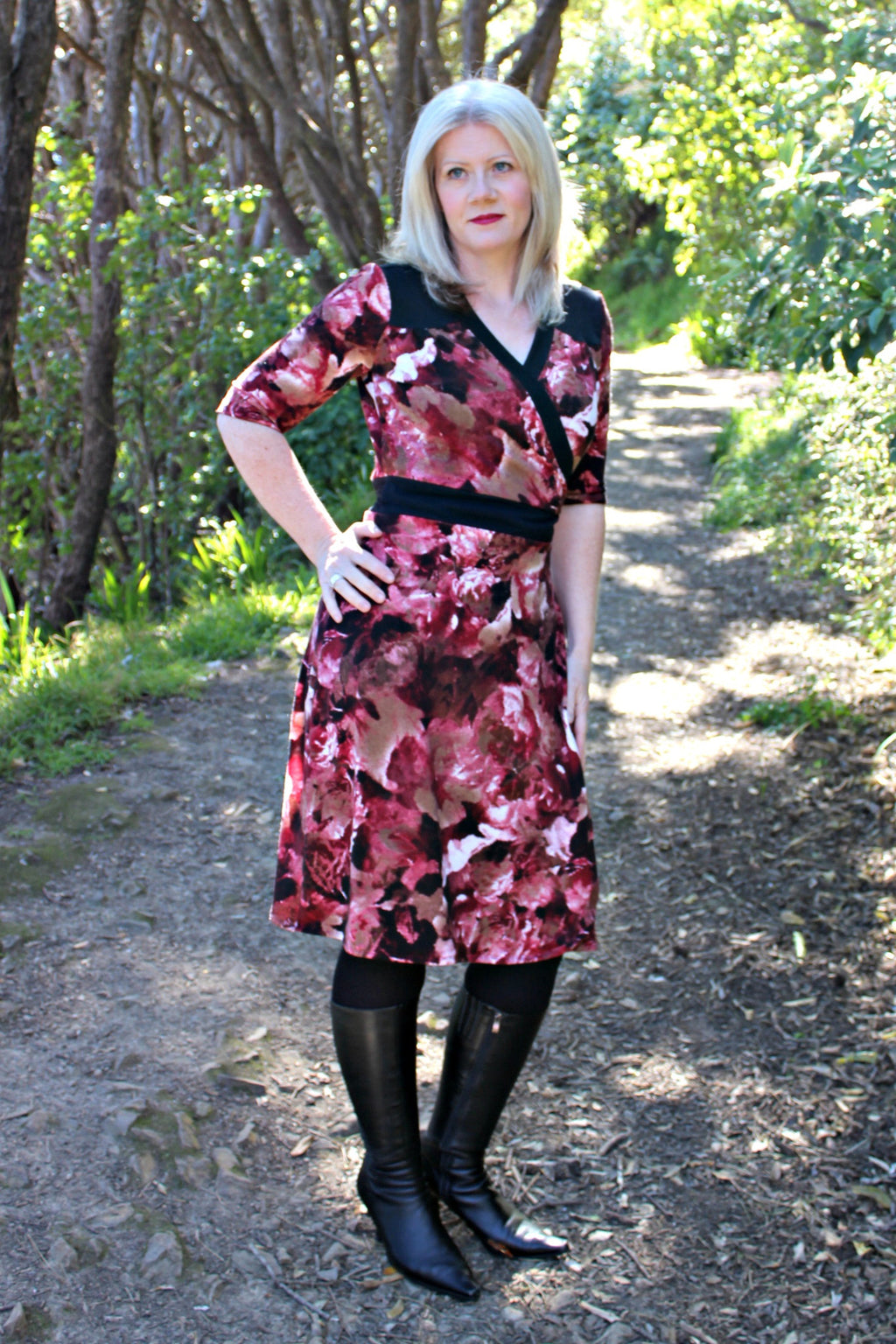 Gillian Dress - dress variation, front