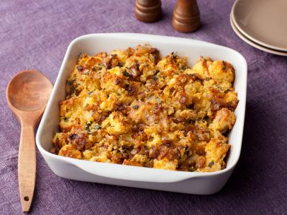 2 Gringos - Caramelized Onion and Cornbread Stuffing Recipe